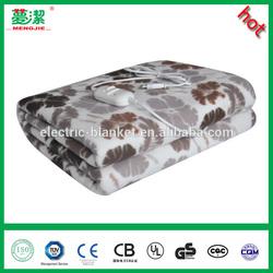 singe electric heated blanket