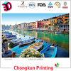2015 new production factory souvenir lenticular 3d postcard
