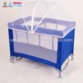 elegante portátil dobrável cercadinho baby crib viagens berço com mosqu