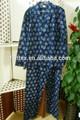 Adultos 100% hombres de algodón de impresión de franela pijama