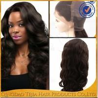 Top quality 100% virgin brazilian wholesale cheap human hair full lace wig