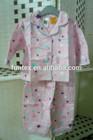 adult 100% cotton baby/kids/infants/girl/boy/children print flannel/flannelette pajamas set