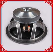 aluminum basket dual voice coil 10 inch car audio subwoofer
