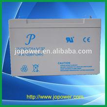 6V12AH sealed lead acid rechargable battery for Alarm &Security application
