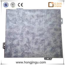 Decorative stone wall panels metal board
