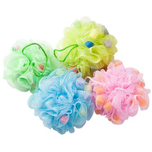 High Quality Mesh Bath Sponge/ Exfoliation Body Puffs / Bath Scrubbers, Assorted Colors