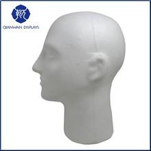 Cheap Clear Foam Head Mannequins for Wig Display QianWan Displays