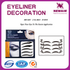 Joyme brand Wholesale fashion temporary tattoo eyeliner stickers for party