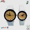 fancy Japan quartz movement leather watch couple watch