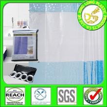DLP001 EVA / PEVA / PVC shower curtain with matching window curtain