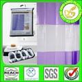 Eva dlp005/peva/pvc transparente impresso 3d& cortina cortinas