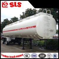 2 axles cheap oil/fuel/diesel/gasoline tank semi-trailer transporter 35cbm dimensions