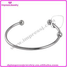 IJB5017 Impress stainless steel Pet Urns Ash jewelry Bracelets Bangle