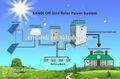 20kw completo de energía solar fuera de la red del sistema de energía para el hogar y uso de la industria