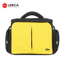 Yellow Nylon beautiful digital camera bag trendy dslr camera bags Professional Vintage Digital Camera Bags