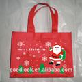 bolsa de regalo de Navidad no tejida bolsa de Navidad ecológica