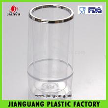 JY213 acrylic plastic clear ice bucket