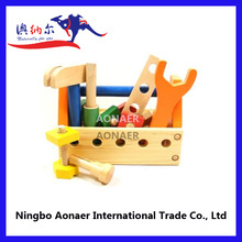 2014 New wood tool bench toys,toy wooden tool box for children,DIY wooden tool box toy for baby WTT5996