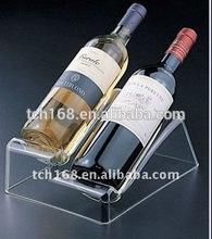 acrylic wine bottle holder, acrylic wine bottle stand