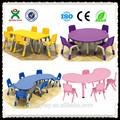 Preço de grosso pré-escolar e jardim de infância móveis usados crianças mesas e cadeiras plásticas para venda( qx- 193g)