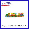 ابتسامة وجه wt2146 مجموعة قطار خشبي لعبة اطفال قطار مصغر لعبة قطار توماس