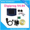 [Wholesale price] Proffesional car mileage correction tool Digiprog III digiprog 3 odometer programmer V4.94 reduce car mileage