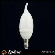 CE/RoHS ceramic 3W led candle light