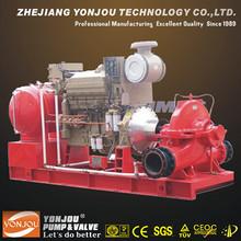 Diesel Engine Irrigation Pump, High Flow Diesel Water Pump Set SH Series, High Capacity Engine Fire Pumps