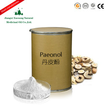 China hot sale pure high quality medicine material 99% paeonol