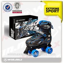 2014 vendita calda 2 in 1 scarpa da skate roller, rullo di scarpe da skate, quattro ruote del rullo scarpe da skate