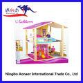 Natural de madeira de boneca de boneca de madeira toy doll house WDH-2 42 pcs