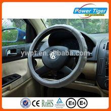Comfort grip leather non-slip car steering wheel cover