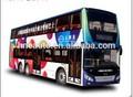 Hengneng 12m híbrido de doble- la cubierta de la ciudad de autobús fdg6120hevs nueva llegada!