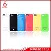 External backup battery charger case for iphone 5s with li-polymer battery