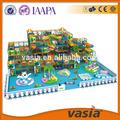 Nuevo diseño de los niños , grande y suave equipo del patio interior, Niños en edad preescolar juego juego, Casa de juegos interior para los niños