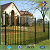 Powder coated galvanized spear top cheap residential steel fence