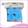 event & party supplier, colorful crepe paper streamer for wedding confetti