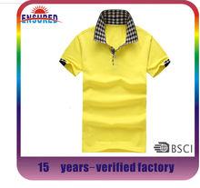 classical bulk blank wholesale mens 100% polo tshirts