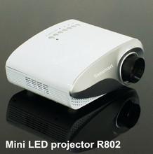 Newest ! Mini Micro AV LED Digital Video Game Projectors Native 480*320 Multimedia player Inputs AV VGA USB SD HDMI Ports