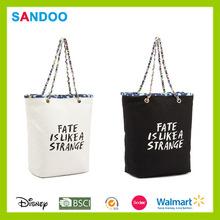 Bestsale big capacity hand bag, popular canvas hand and bag