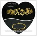 casamento série 24k gold moda jóias pulseira sólida dubai pulseiras de ouro