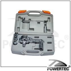 POWERTEC 800N.M Car Tire Repair Tools Kits, Nut Spanner