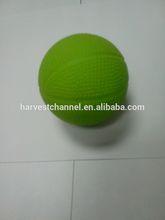 Colorful high bouncing green pu ball