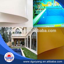 PVC swimming pool cover fabric