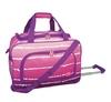 "Pink Tie-Dye 20"" Rolling Duffel bag,travel bag"