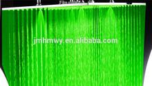 Dual led 20 inch rain shower head spray top waterfall shower spray
