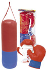Boxing bag and gloves set for kid toy