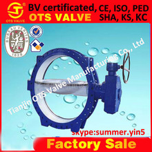 Bv-SY-219 pn 10 double eccentric butterfly valve ductile iron dn600, 1000, dn1200, dn1400, dn1600, dn1800