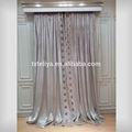 cream white polyester heavy curtain velvet fabrics