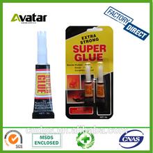 2pack adhesive glue liquid formula super glue